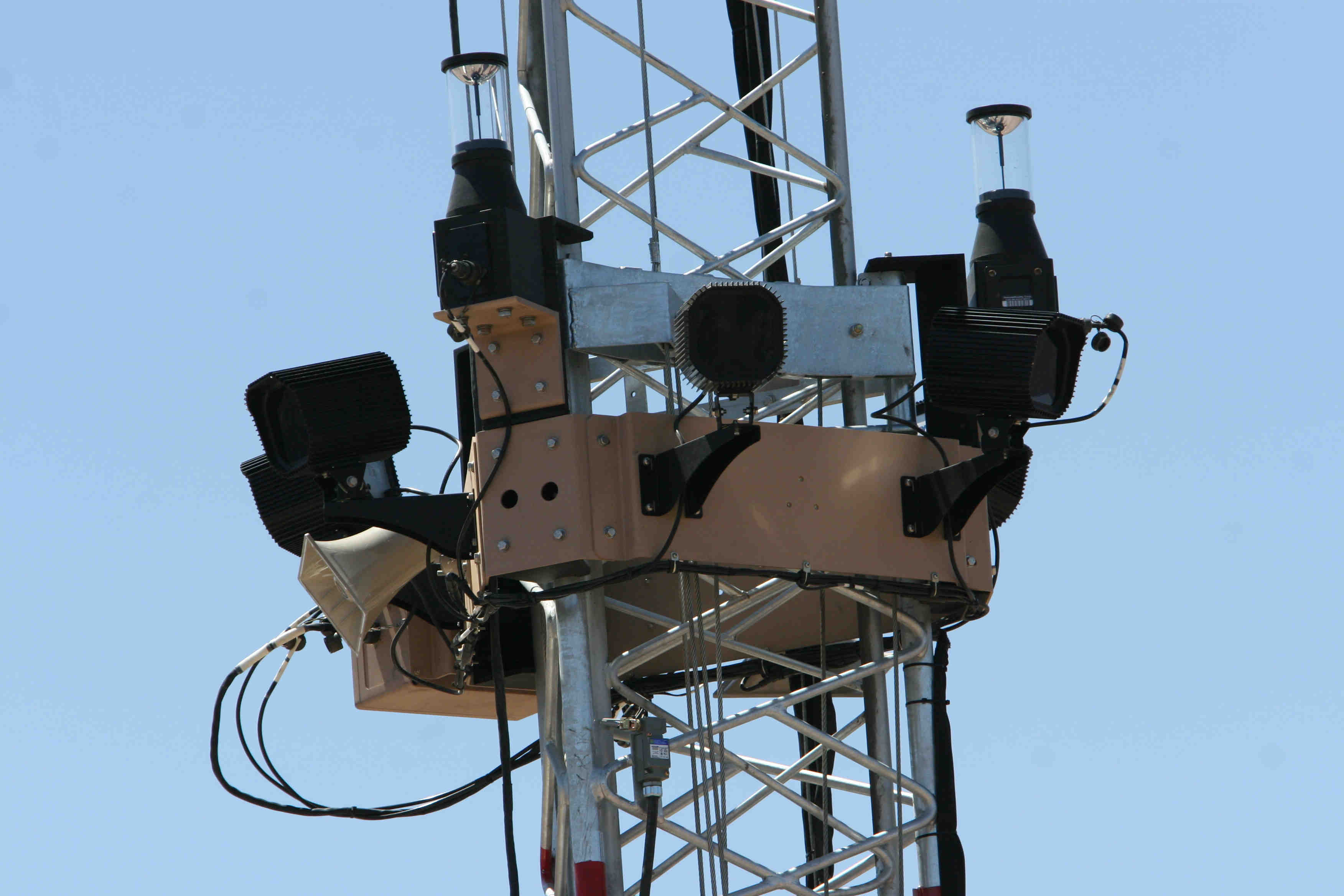Some of the technology used by the U.S. federal government to monitor the border with Mexico.