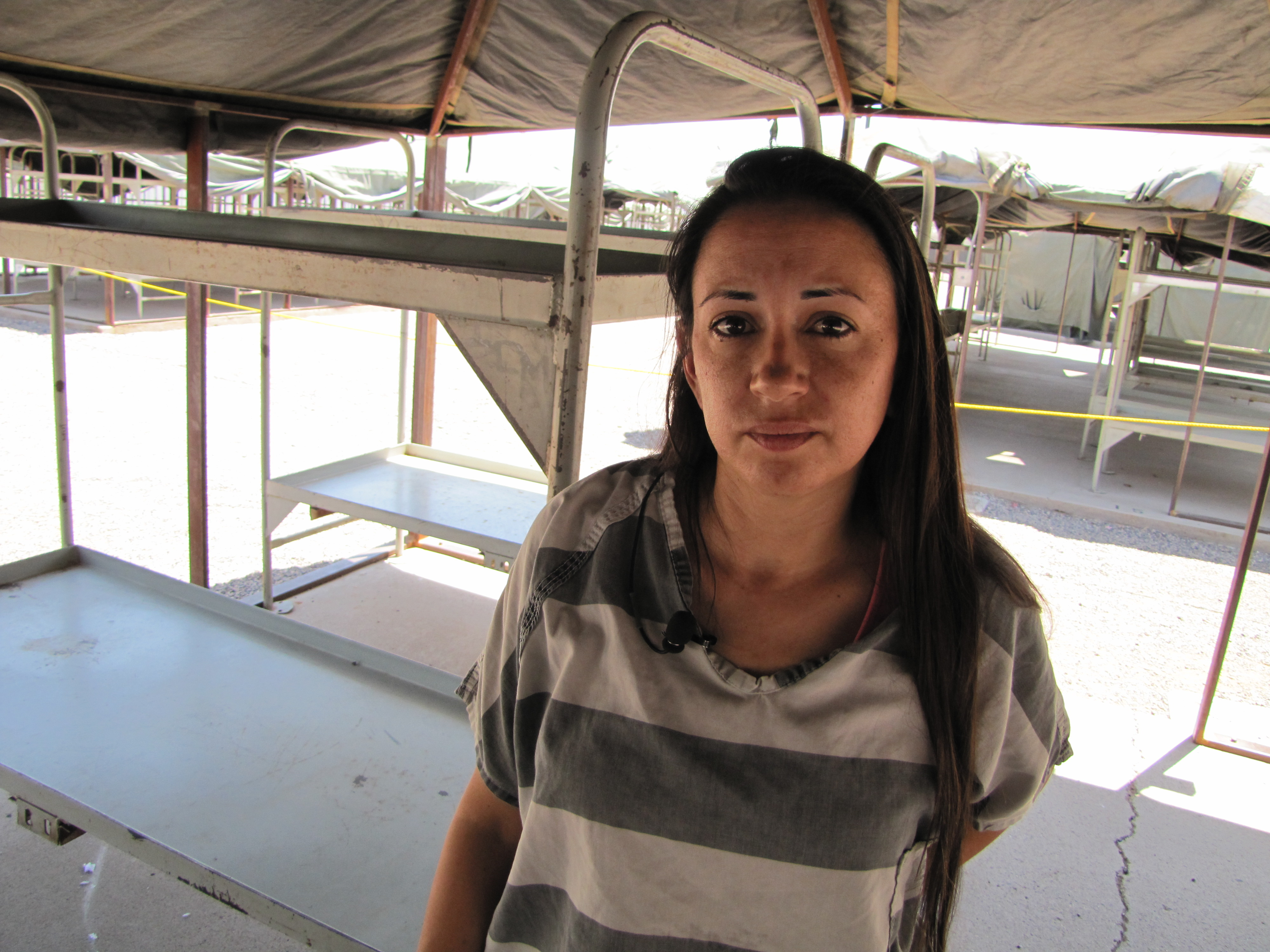 Cora Miranda 32 was wounded on Wednesday night while sleeping in her bunk at Tent City. Shots fired outside the compound ricocheted off her tentu0027s beams ...  sc 1 st  Fronteras Desk & After Tent City Celebration Inmate Wounded At Jail | Fronteras Desk