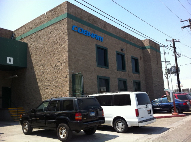 Cobham's plant is located 15 miles south of the border, in one of Tijuana's maquila neighborhoods.