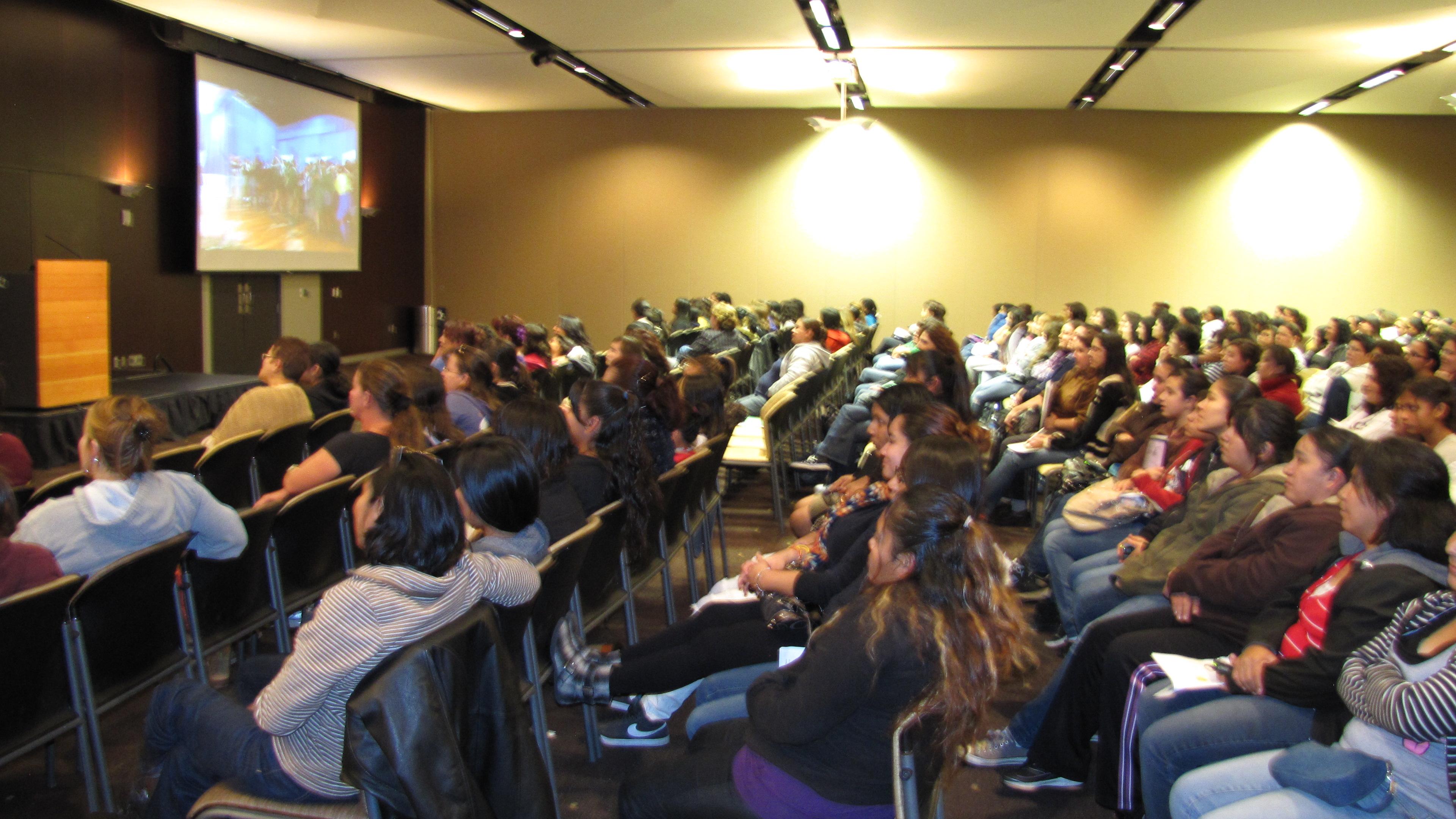 ASU Hispanic Mother Daughter Program workshop.
