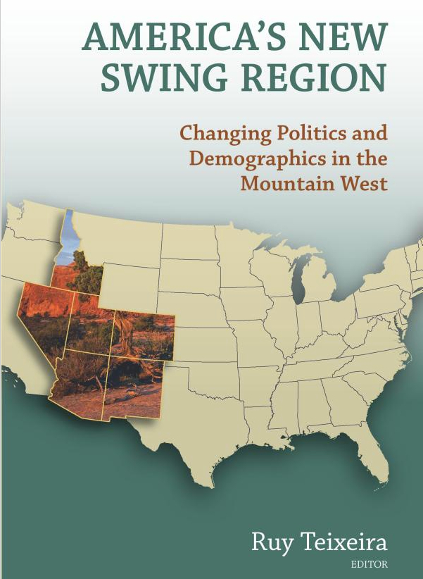 "The cover of the book ""America's New Swing Region""."