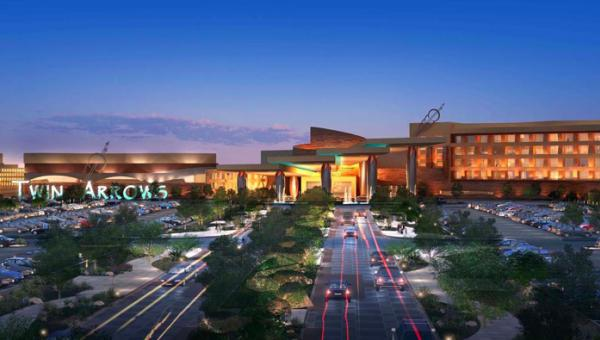 The Navajo Nation Gaming Enterprise plans to open the Twin Arrows casino in May.