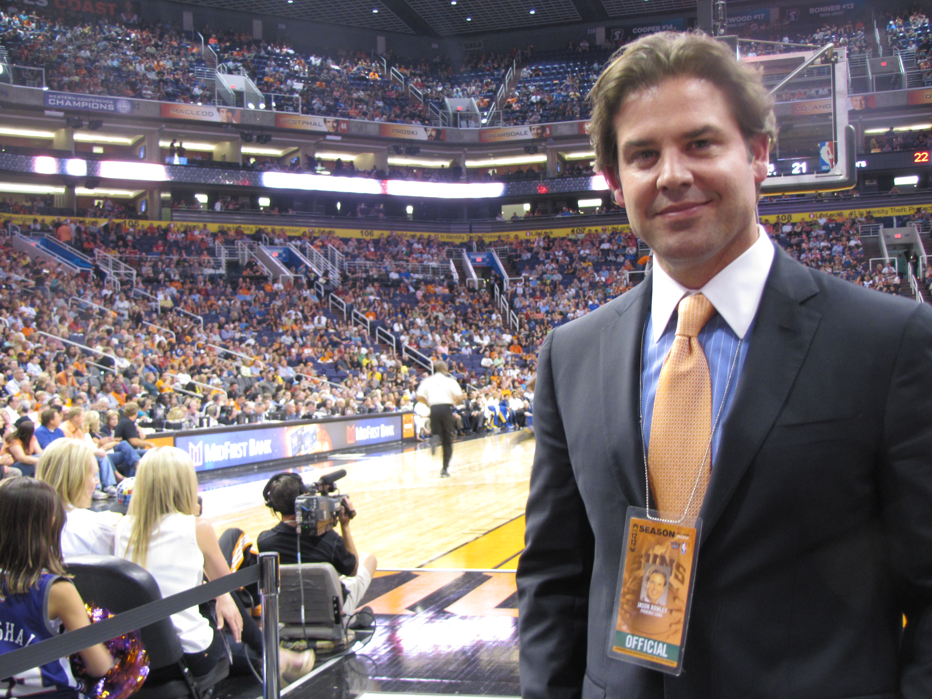 Phoenix Suns President Jason Rowley hopes the team can grow its fan base in Mexico.