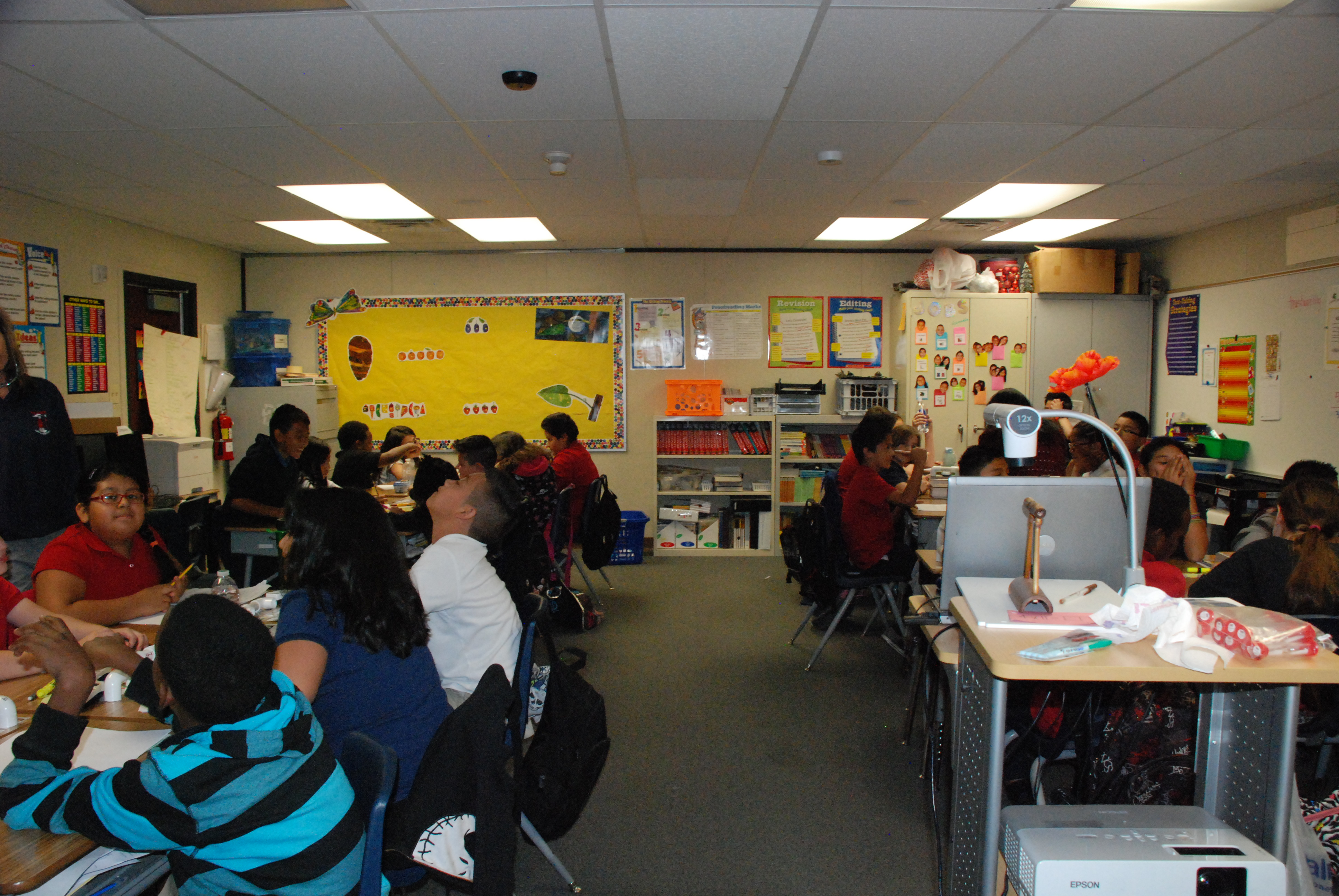 5th grade class at Ronzone Elementary