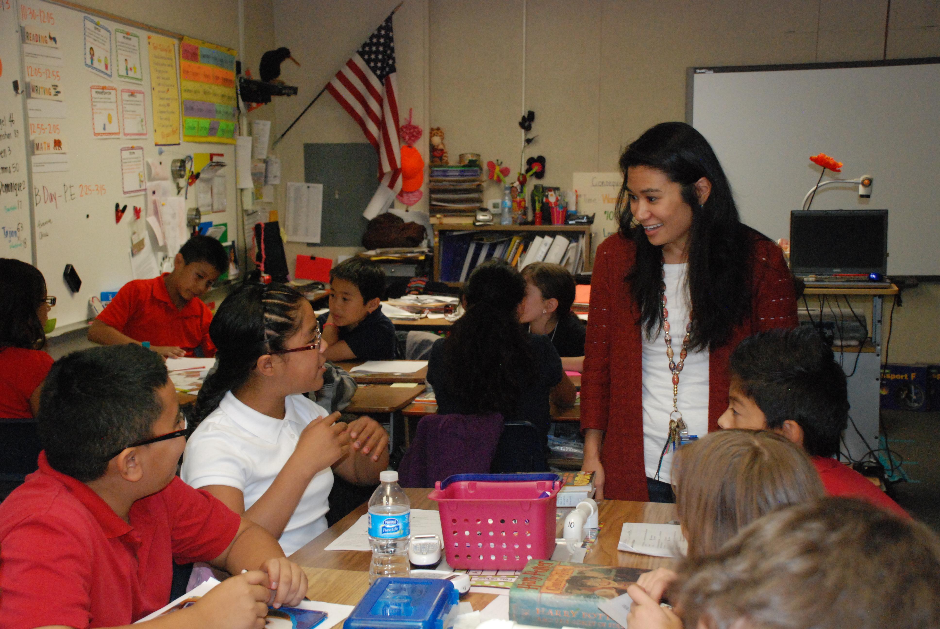 5th grade teacher Billie Ann Watanabe