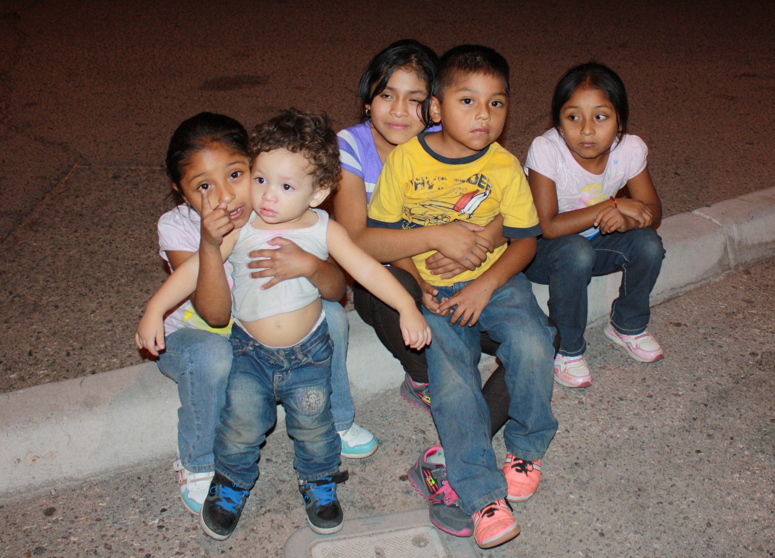 Unaccompanied children at US border