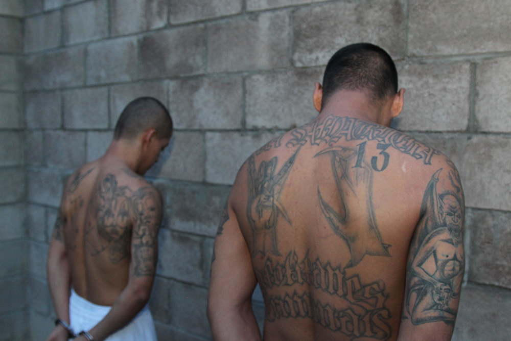 Mara Salvatrucha tattoo