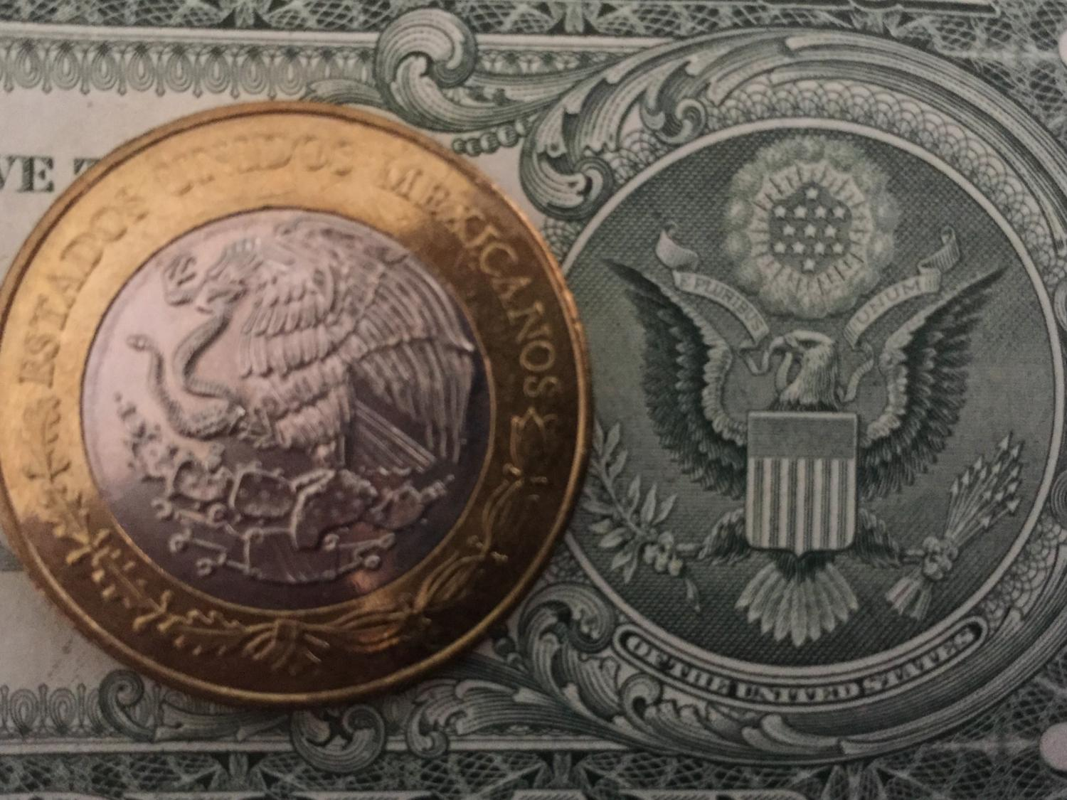mexico peso dollar us trump finance currency coin bill