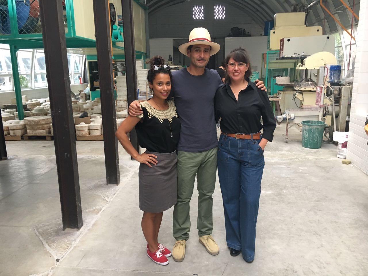Estrella Patyon, Gabriel Rico and Lorena Peña Brito