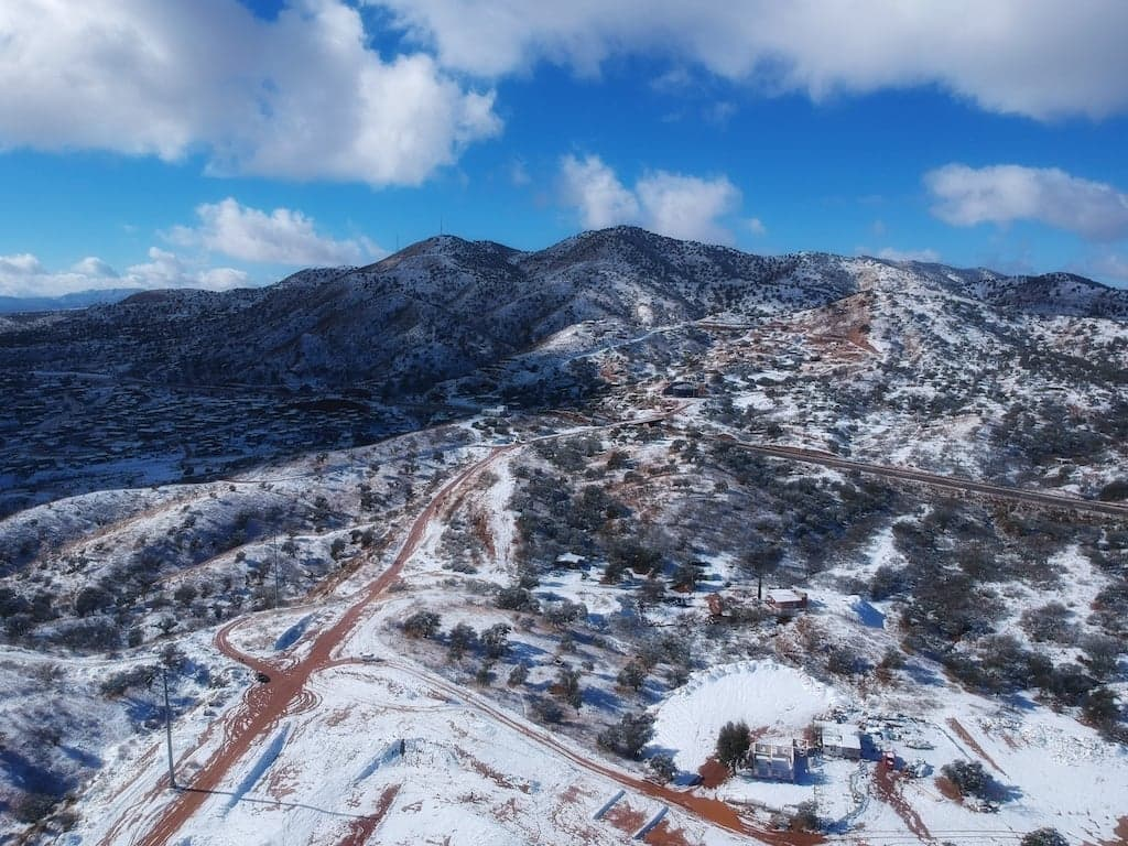 Snow in Nogales, Sonora