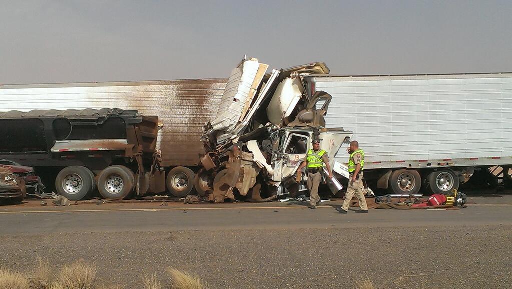 ADOT I-10 accident