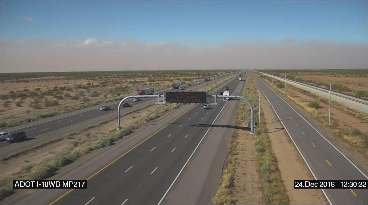 I-10 near Picacho Peak