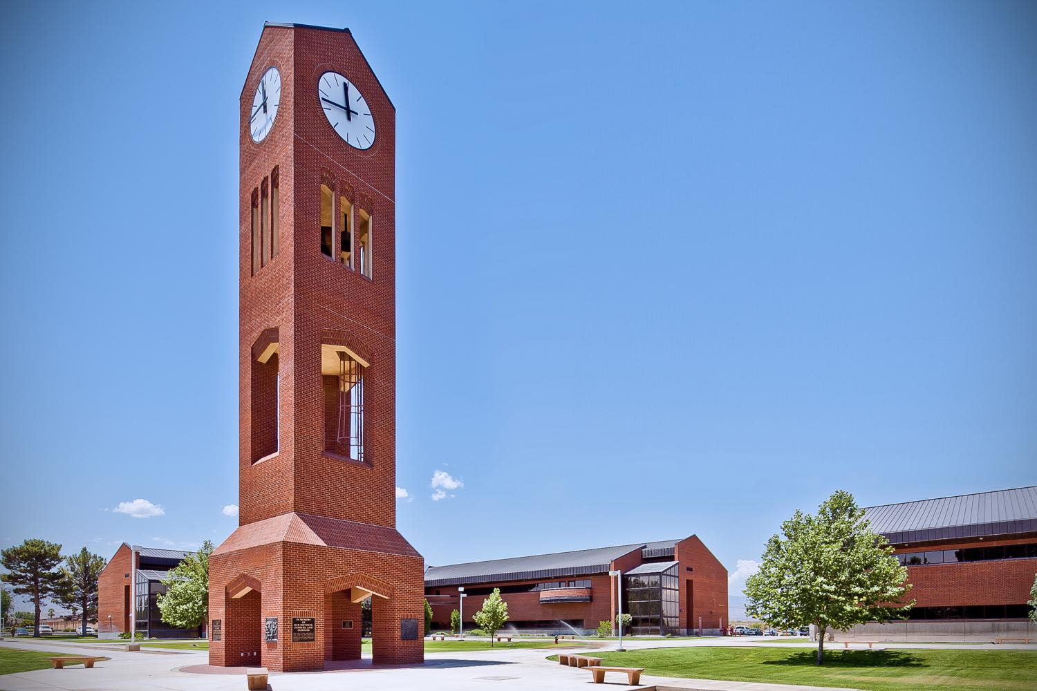 Eastern Arizona College Memorial Bell Tower