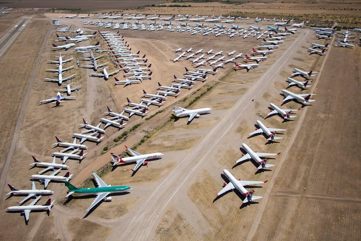 The Planedemic: Where Have All The Airplanes Gone?