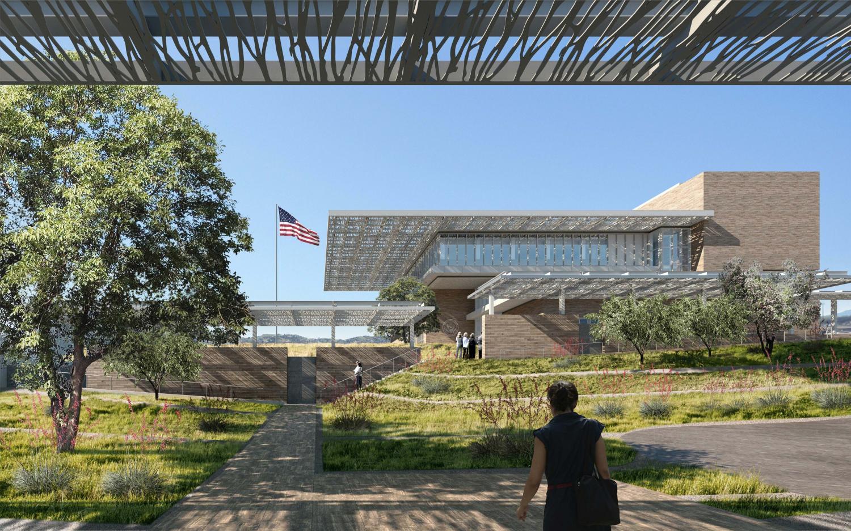 New U.S. Consulate