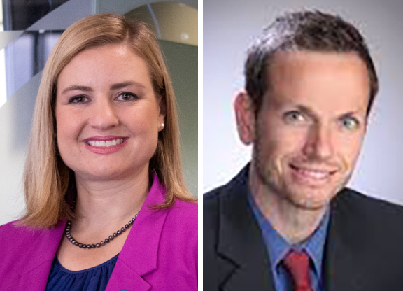 Kate Gallego and Scot Mussi
