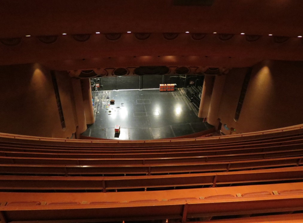 Asu gammage theater season tickets sell out quickly kjzz for Open balcony in a theatre