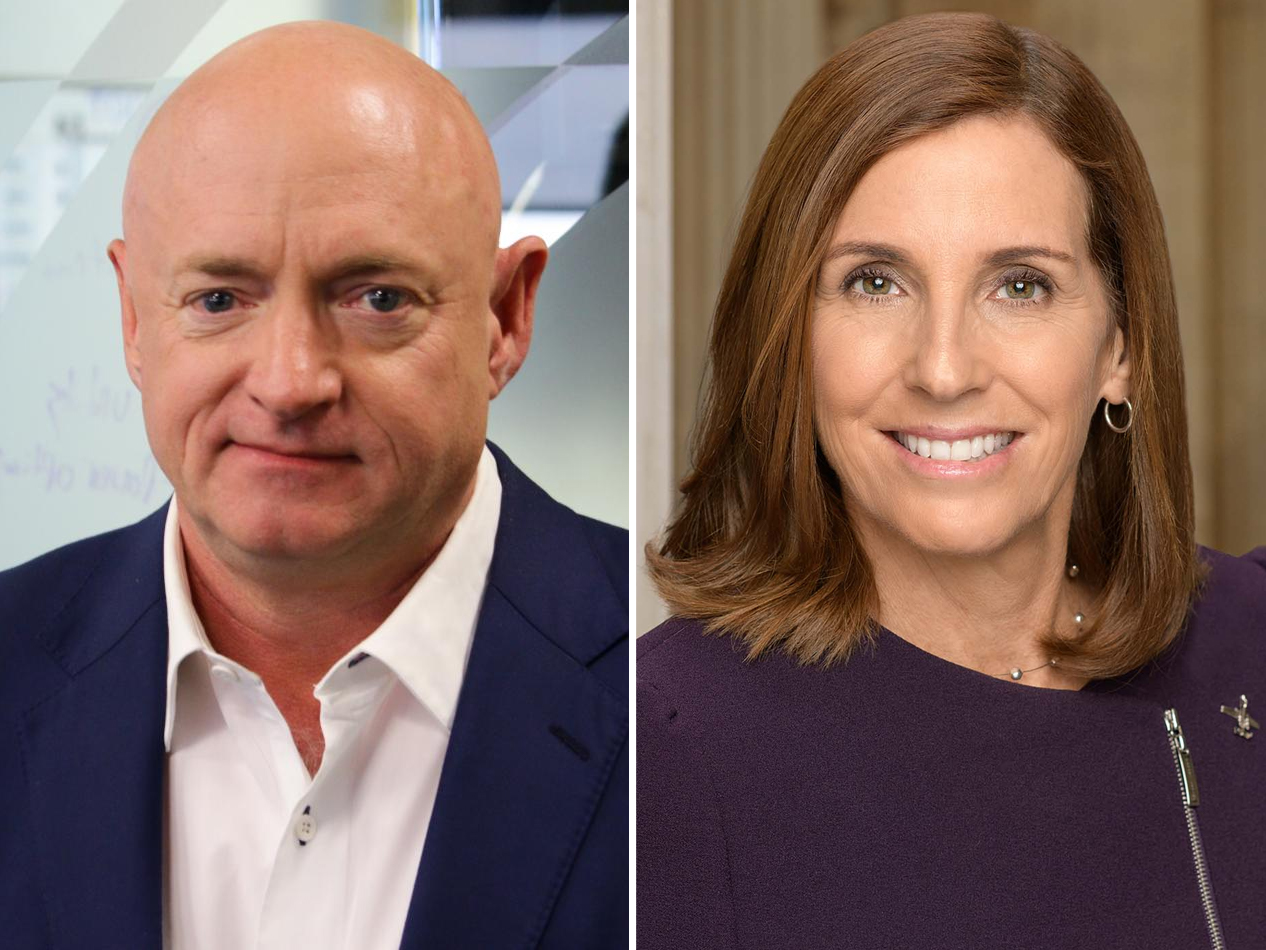 New Poll Shows Arizona Voters Place Mark Kelly Over Martha McSally In Senate Race