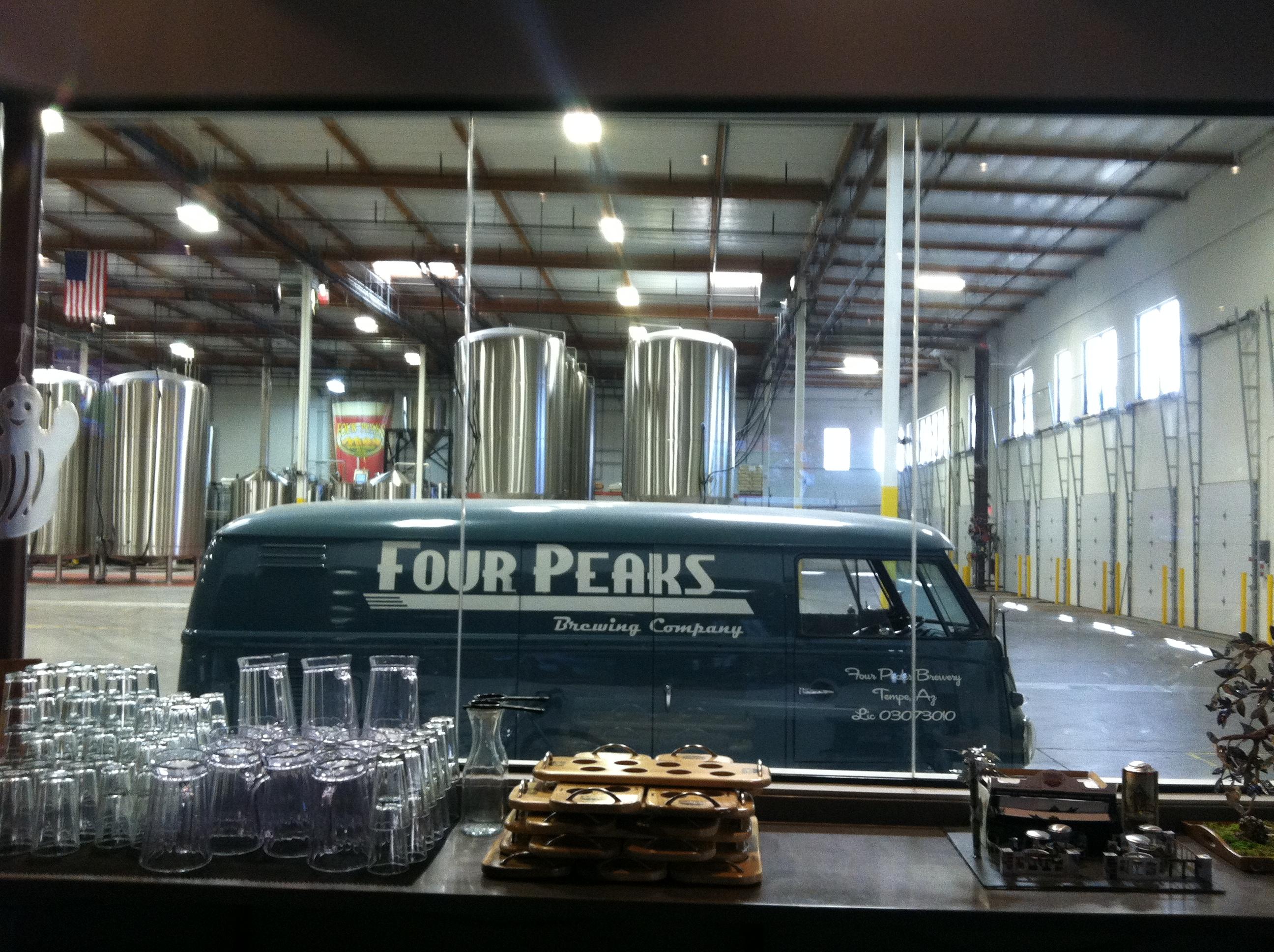 Four Peaks Van