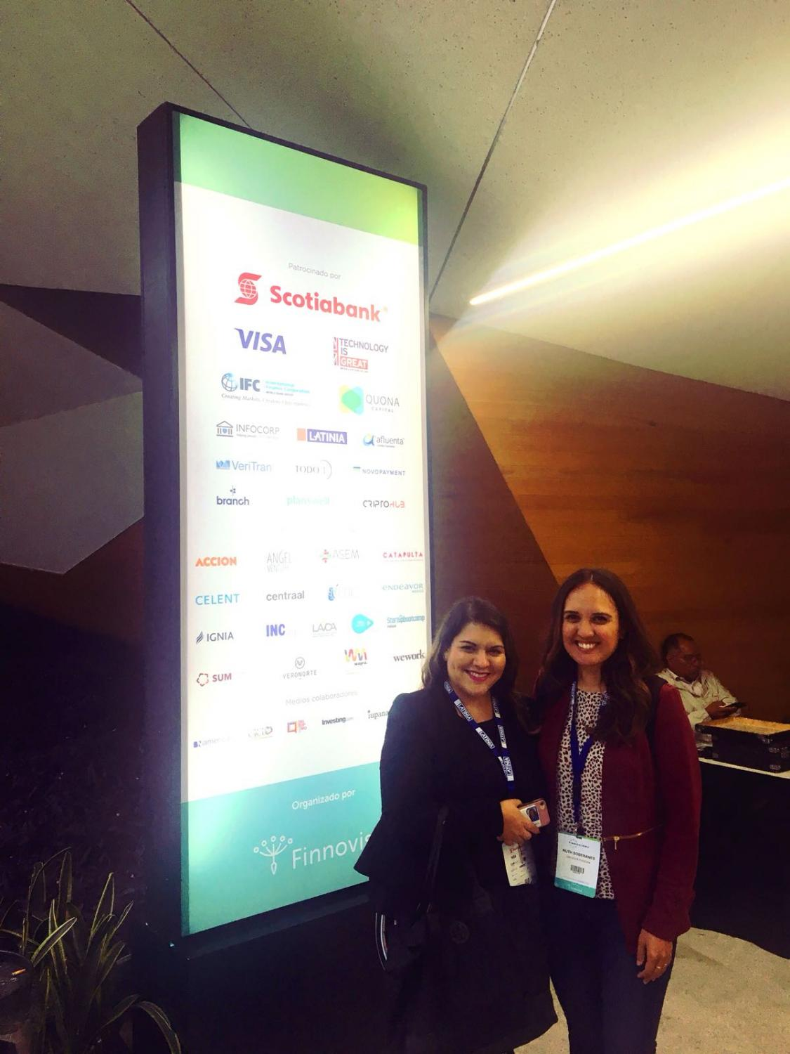 Ruth Soberanes (right) from G-PEC with Ivonne Padilla from Mexico's INCMty.