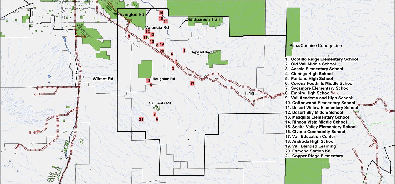 vail school district map