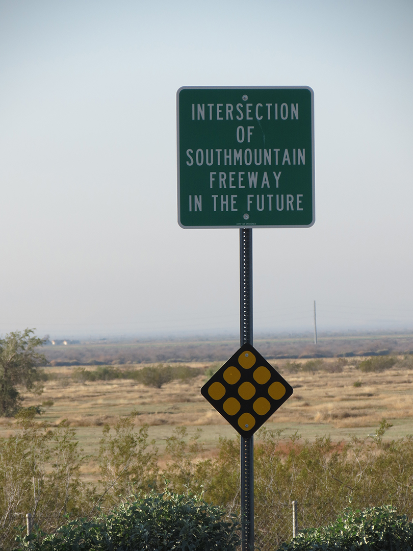 freeway sign