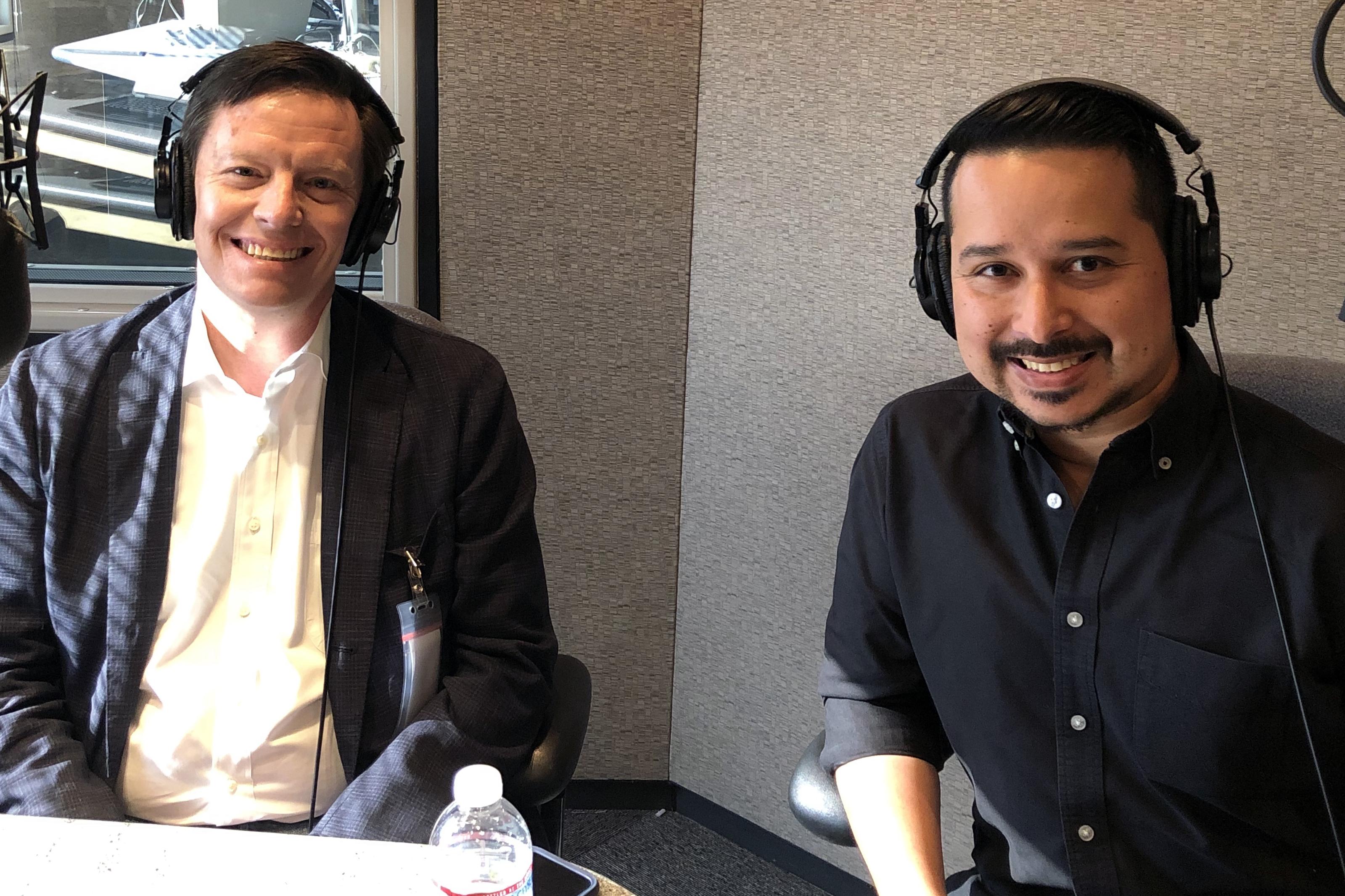 Chris Baker and Roy Herrera