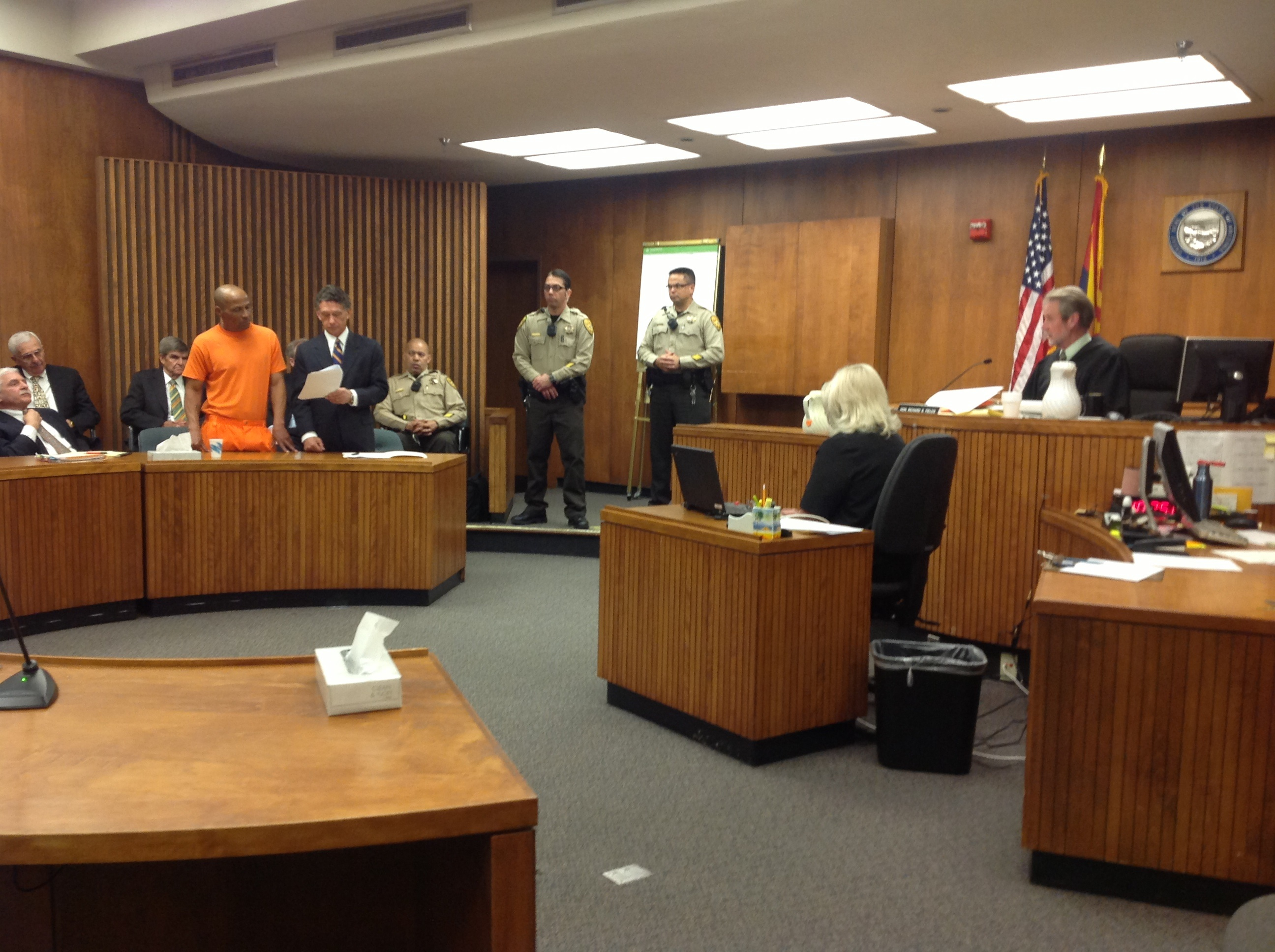 Louis Taylor in court