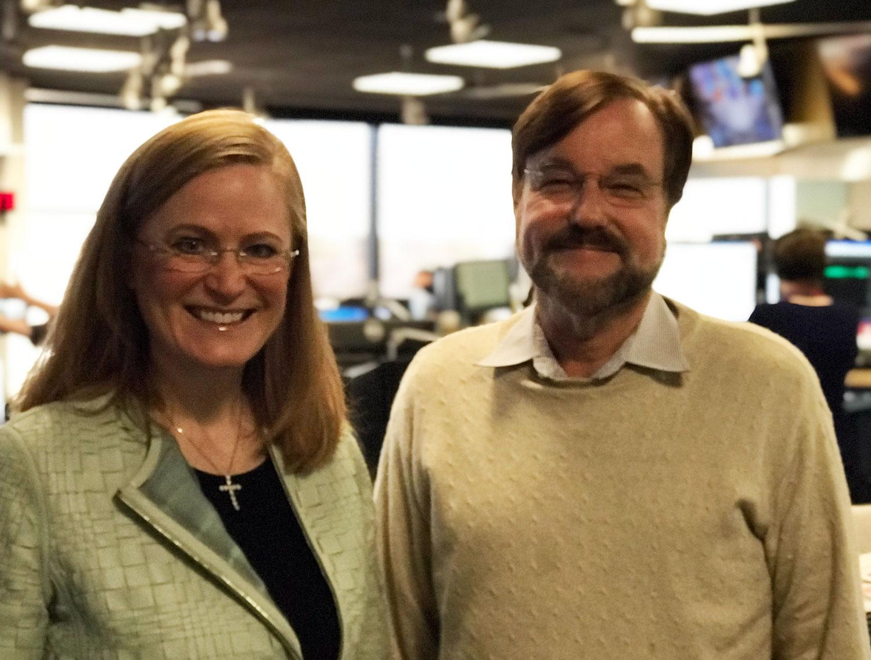 Christine Jones and Mike O'Neil