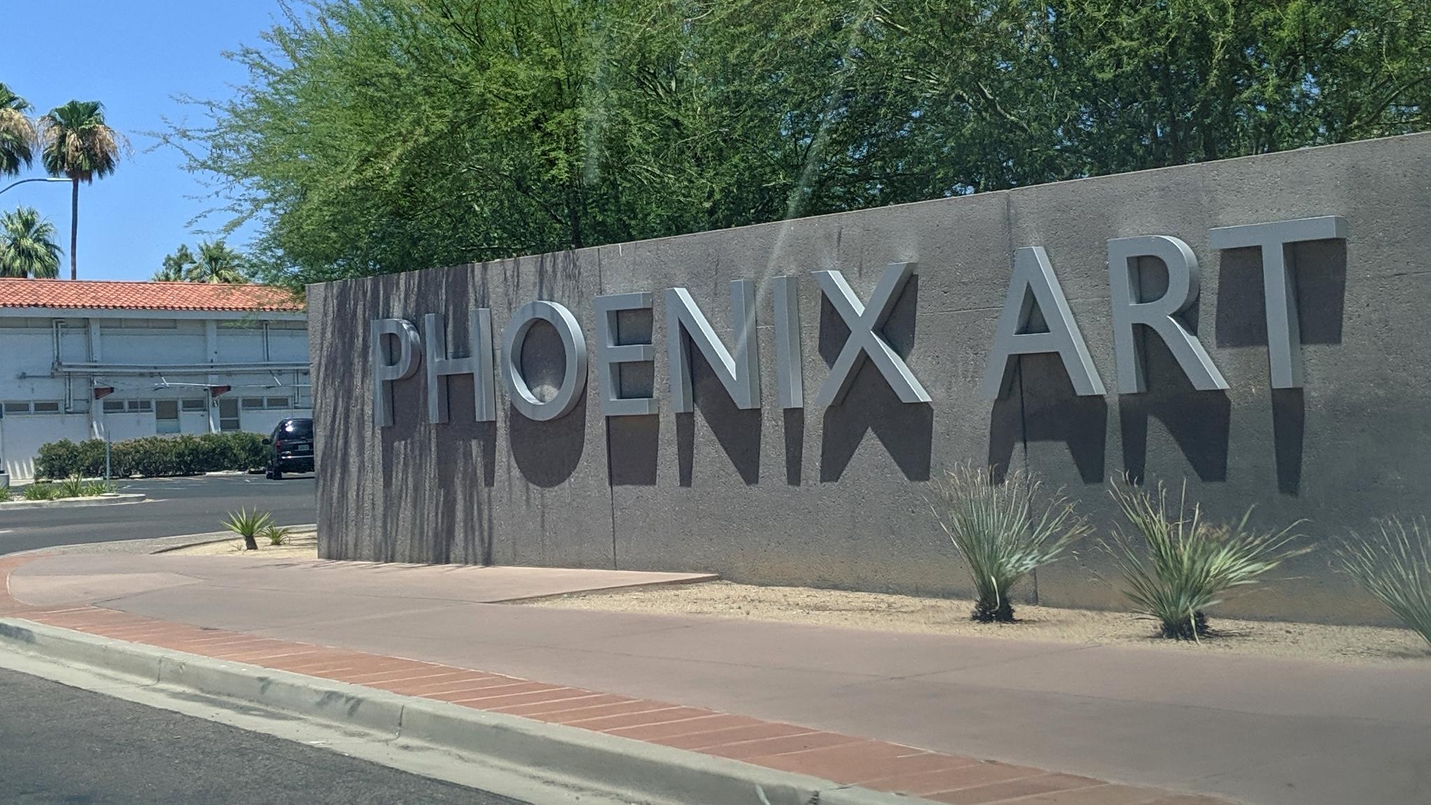 Phoenix Art Museum sign