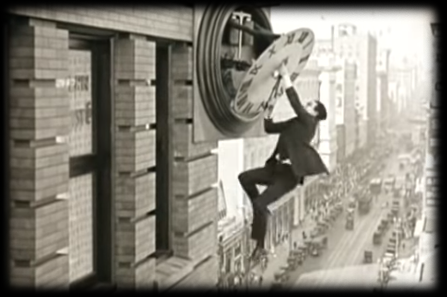 safety last with harold lloyd