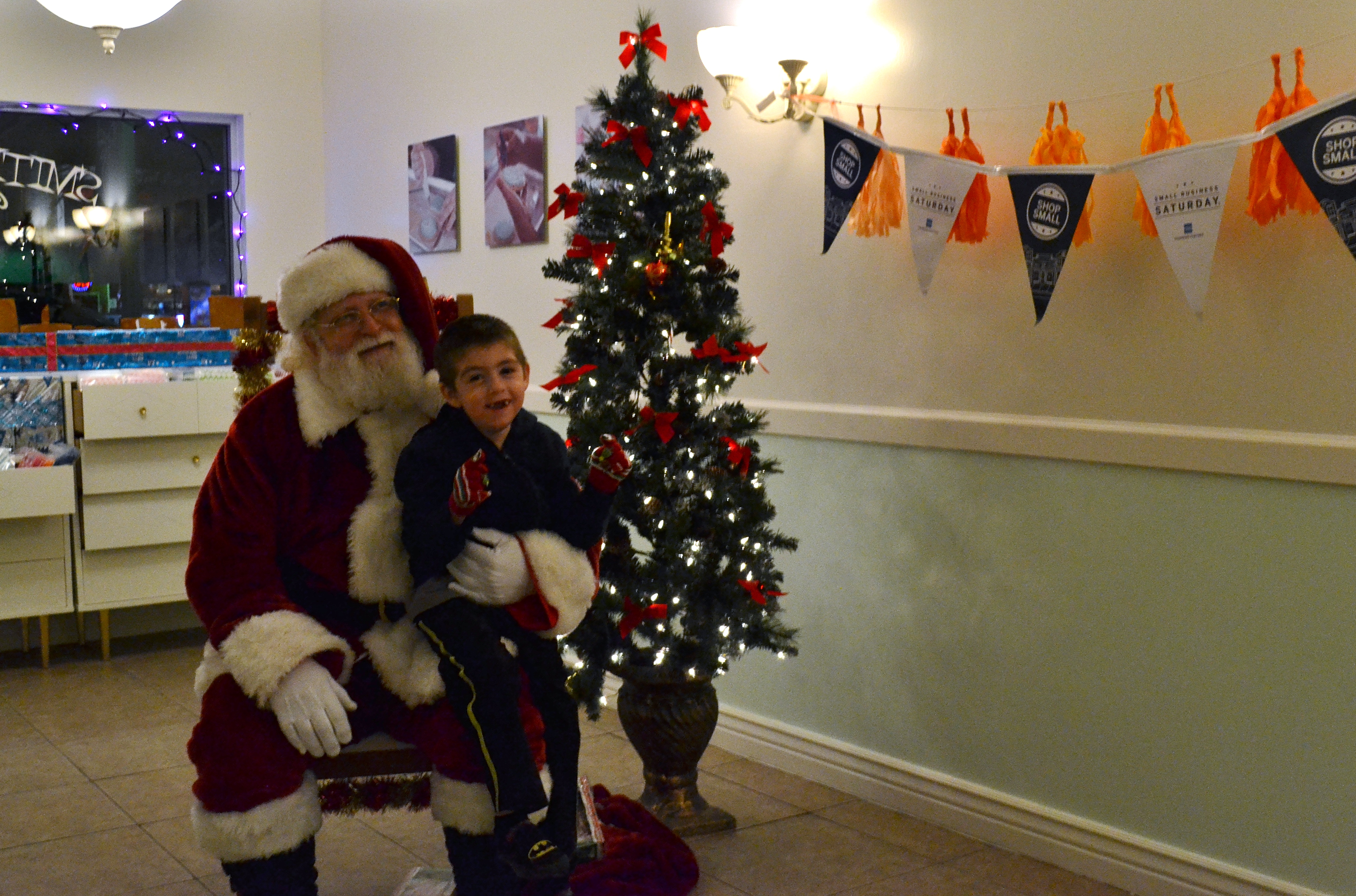 Santa in Mesa