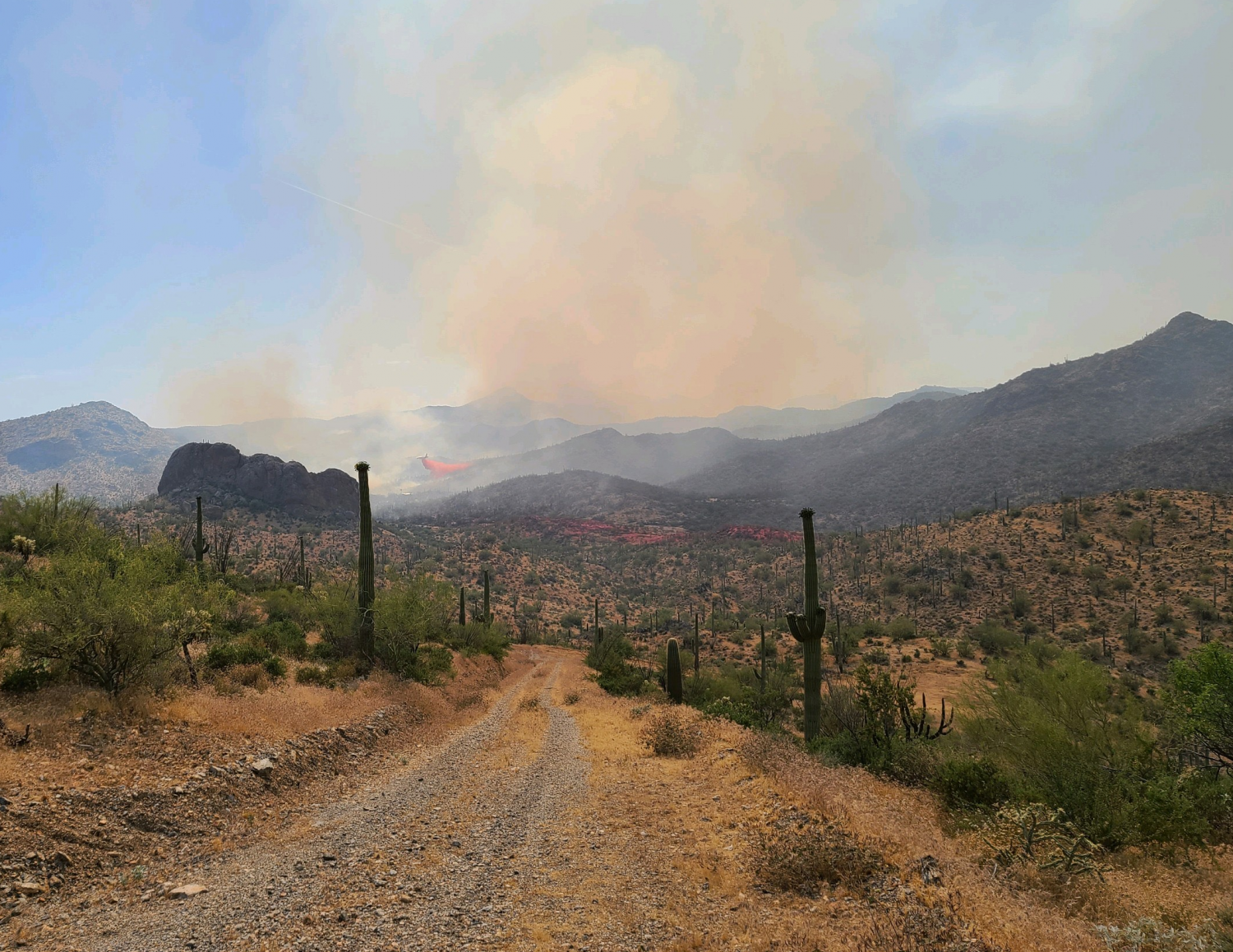 Wildfires Burning Across Arizona; Fire Danger 'Extremely High'