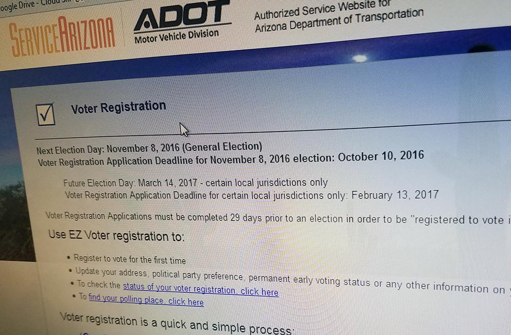 Az Car Registration: Arizona Democrats Sue Over Holiday Voter Registration