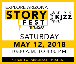 Buy Tickets to KJZZ Explore Arizona StoryFest