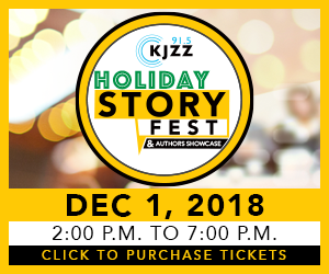 KJZZ Holiday Storyfest 2018