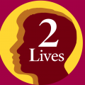 2 Lives podcast logo