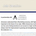 Arizona Job Creation Progress Meter