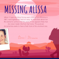 Missing Alissa podcast website