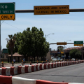 port of entry in Douglas, Arizona
