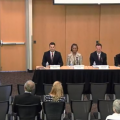 Rodney Glassman, Sandra Kennedy, Justin Olson and Kiana Sears