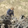 Wreckage Of  Bryant Copter Crash Transported To Phoenix