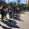 ASU Tempe voting polling election