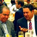Antonin Scalia with Mark Brnovich