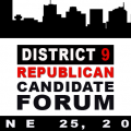 District 9 Republican Candidate Forum - June 25