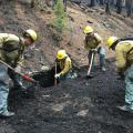 Frye Fire Cleanup