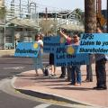 APS Shareholders Meeting Draws Protest Over Campaign Contributions