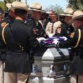 Memorial held for Department of Public Safety officer killed last week