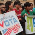 Poll Shows Promising Turnout Of Latino Voters