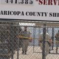 Fences At Sheriff Joe Arpaio's Tent City.